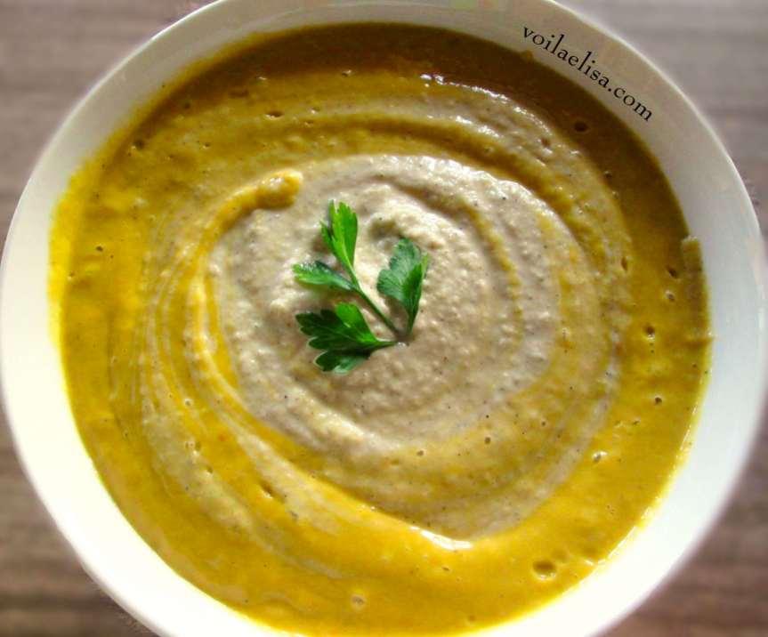 crema-mango-aguacate-tomate-ajo-cebolla-perejil-queso-semillas-girasol-restos-leche-sin-gluten-sin-lactosa-crudivegana-vegana-sopa-verano-primavera-levadura-nutricional-superalimento