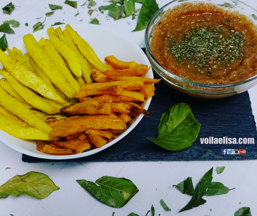 patatas-fritas-saludables-boniatos-horneados-ketchup-crudivegano-cocina-sana-bajo-grasa-vegano-version-saludable