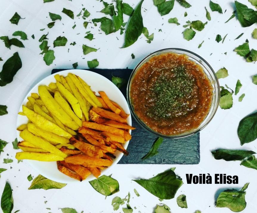 patatas-ketchup-boniato-sweet-potato-wedges-fritos-chips-horno-ketchup-sano-casero